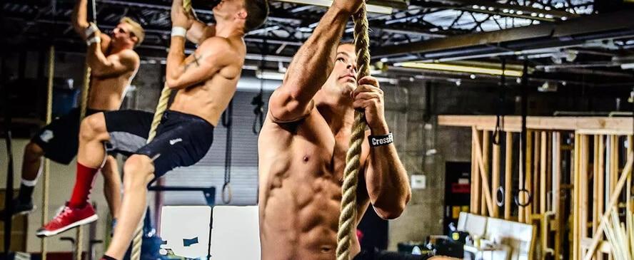 Alta intensidade do treino de Crossfit